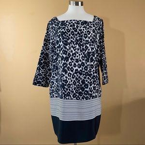 SZ  XL ZARA CHEETAH PRINT DRESS
